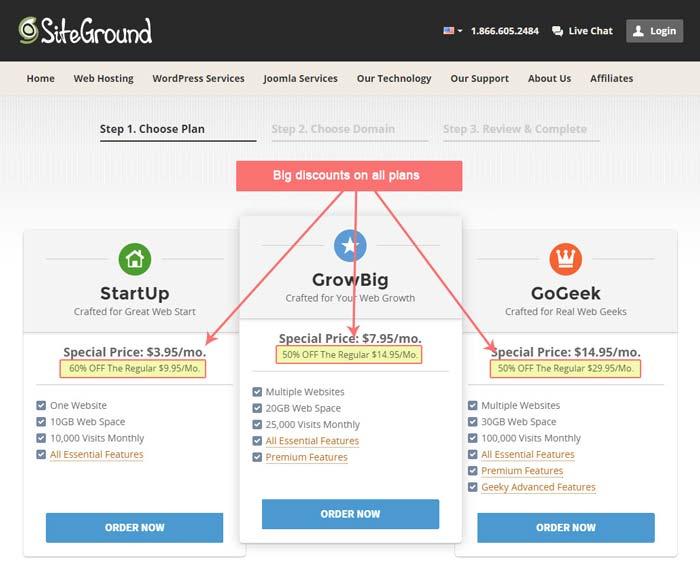 siteground-prezzi-sconti
